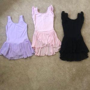 3 Dance Leotards for girls